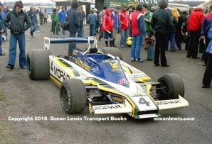 Fittipaldi F5A Guy Edwards  Mallory Park paddock, Aurora F1 1979 photo B
